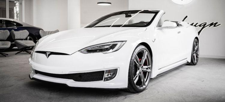 Tesla Model S Cabrio Ares Design Portada