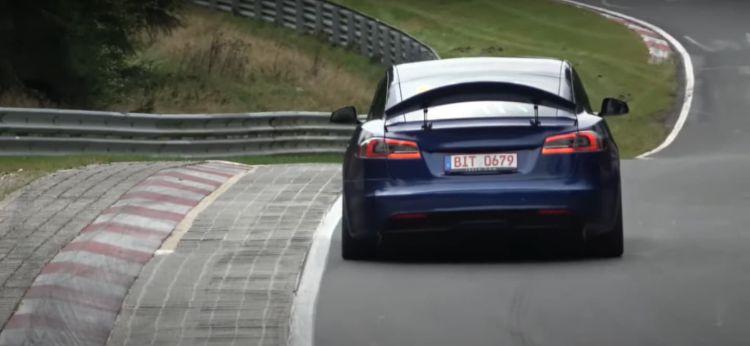 Tesla Model S Plaid Nurburgring Aerofreno 06