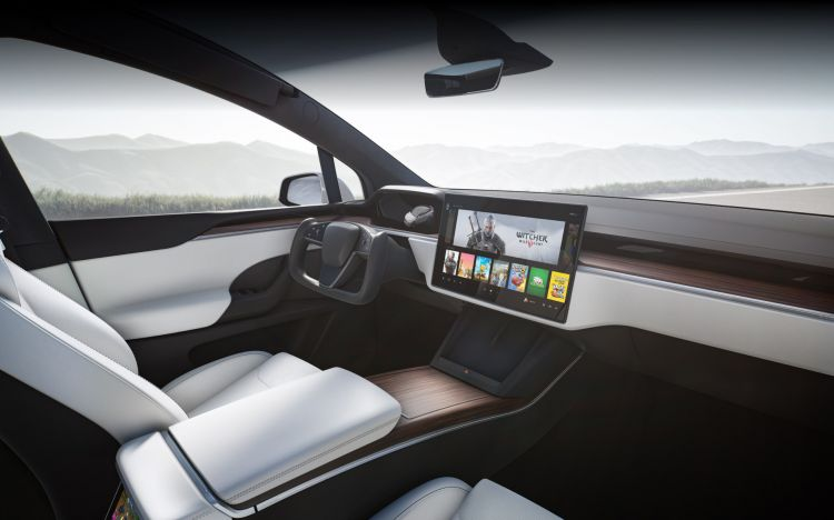 Tesla Model X 2021 Interior 01