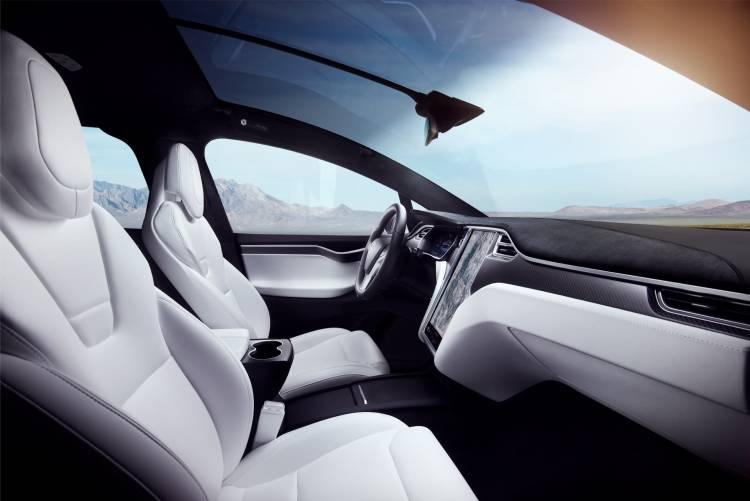 Interior Tesla Model X