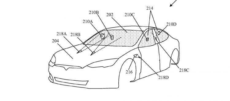 Tesla Patente Laser Limpiaparabrisas P