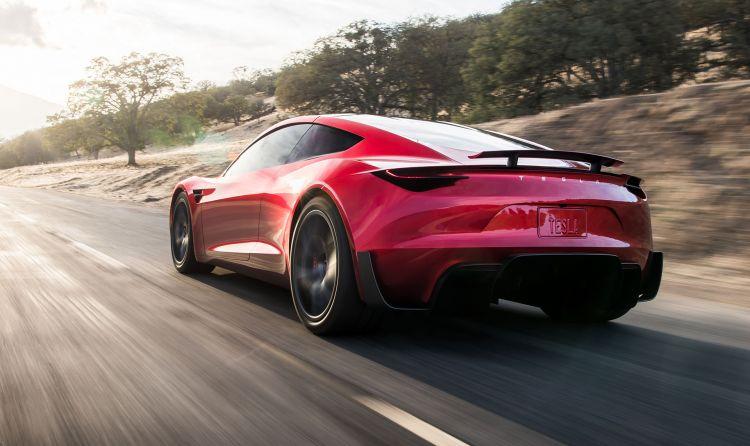 Tesla Roadster 2020 Rojo Programa Referidos