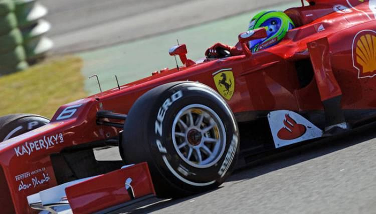 Ferrari F1 monoplaza Jerez 2012