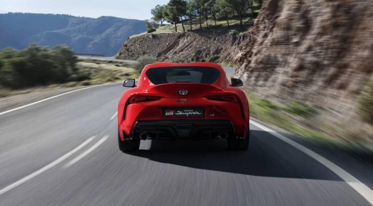Todos Los Detalles Rojo Exterior Toyota Supra Red Location 004 153728