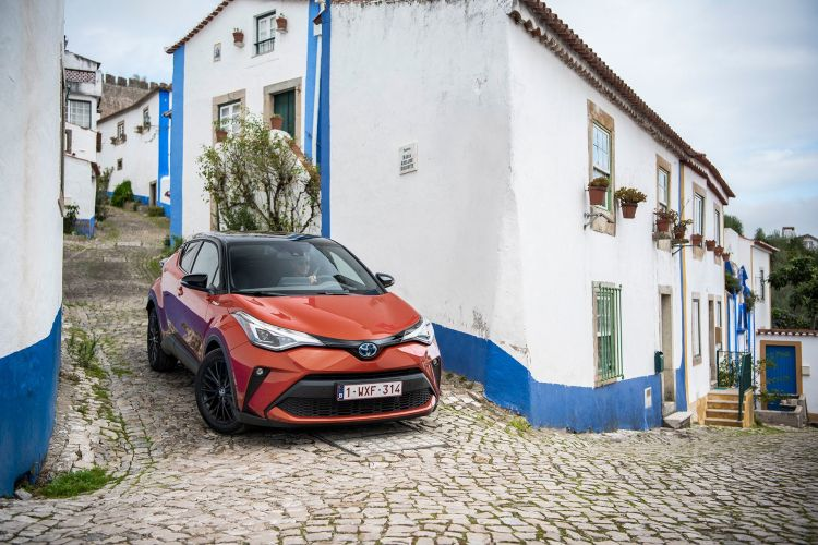 Toyota C Hr 2020 Naranja 16