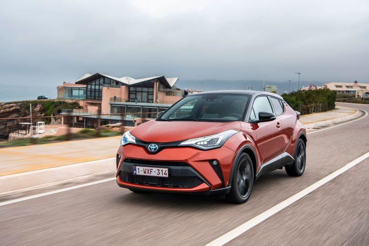 Toyota C Hr 2020 Naranja Movimiento 24