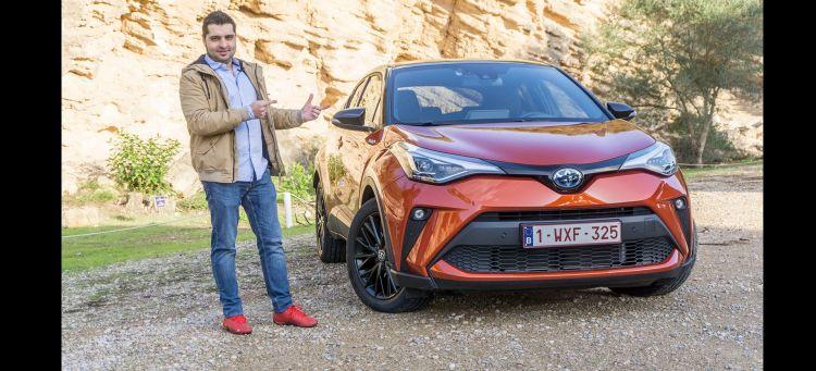 Toyota C Hr Prueba Video 2020