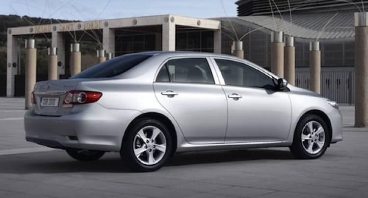 Toyota Corolla Sedán 2011