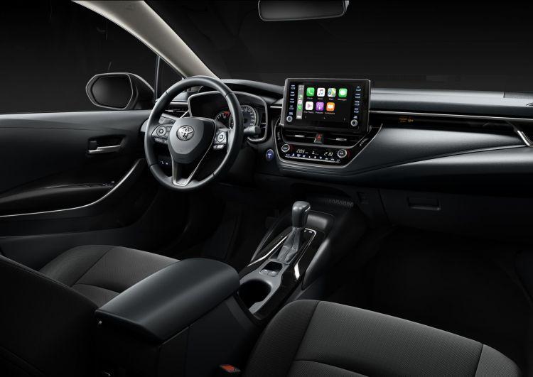 Toyota Corolla Sedan Electric Hybrid 2021 03
