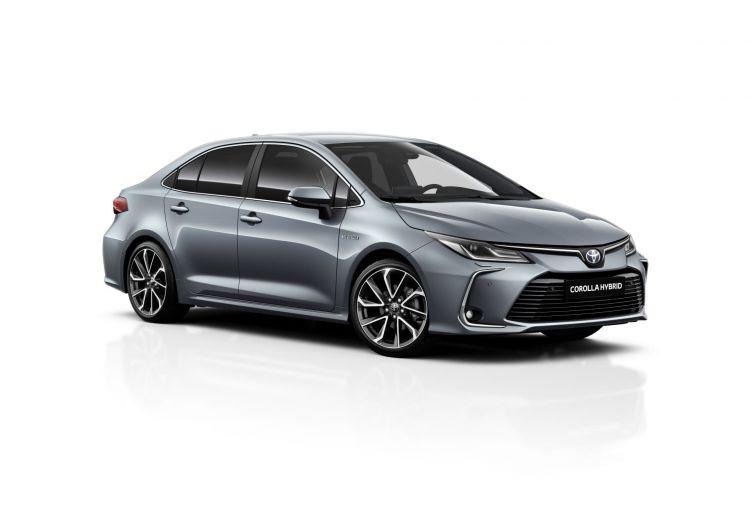 Toyota Corolla Sedan Electric Hybrid 2021 04