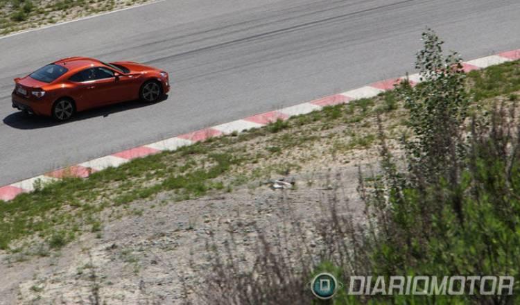 Toyota GT-86, prueba y presentación en Barcelona. En pista
