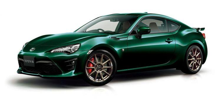 Toyota Gt86 British Green P
