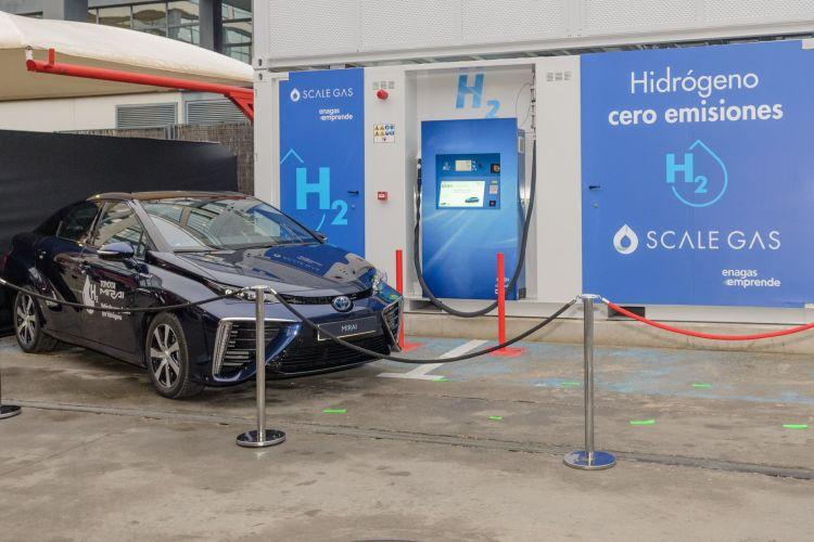 Toyota Hidrogenera Hidrogeno Verde Madrid 04