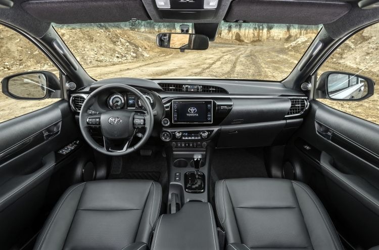 Toyota Hilux Special Edition 5 Interior