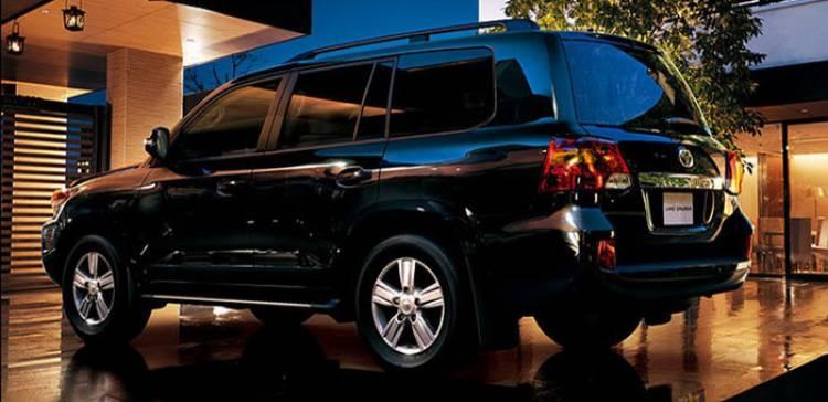 Toyota Land Cruiser 200 2012