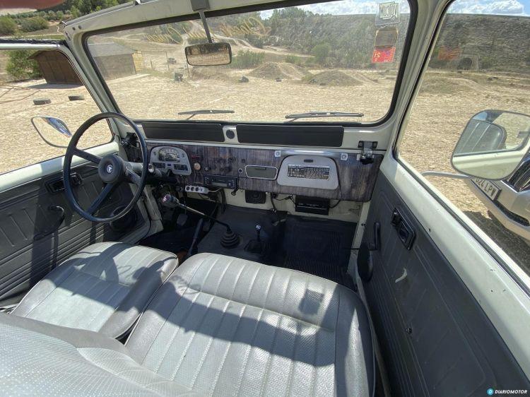 Toyota Land Cruiser Bj40 Interior Pasajero
