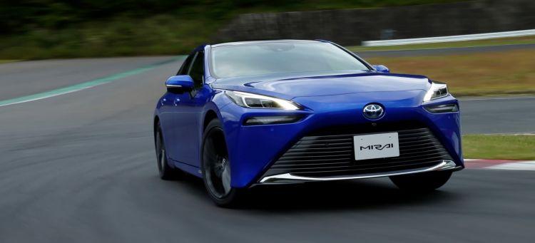 Toyota Mirai 2021 Portada