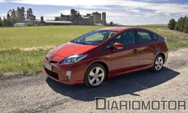Toyota Prius a prueba