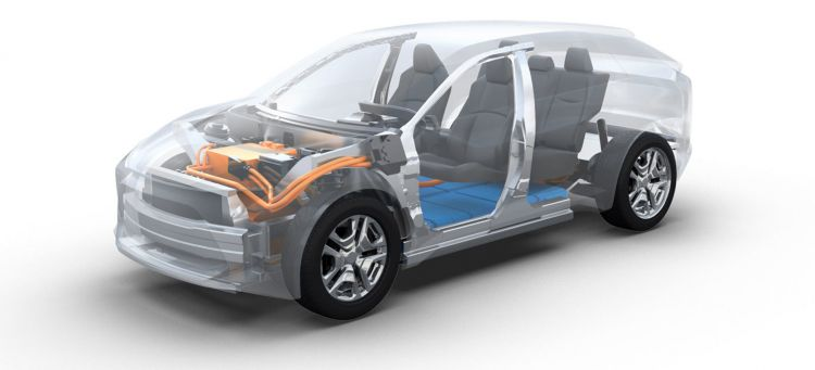 Toyota Subaru Coches Electricos