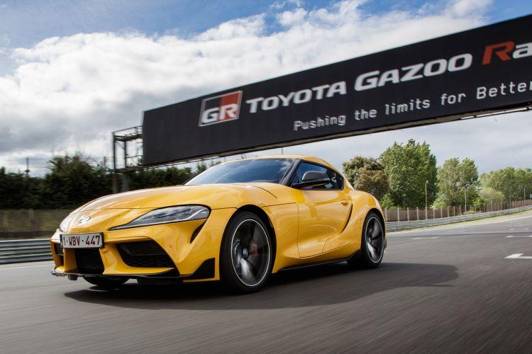 Toyota Supra 2019 Prueba 17