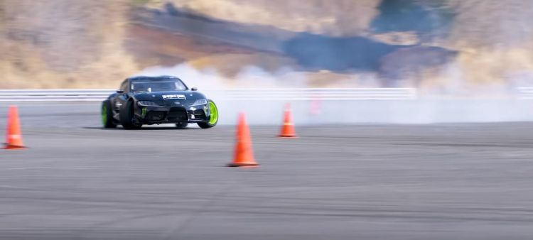 Toyota Supra Drifting A90