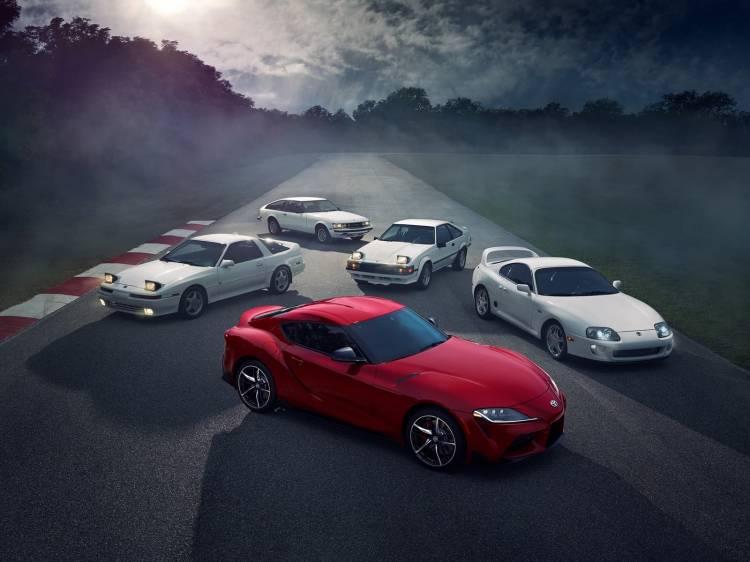 Toyota Supra Generaciones 2019 001