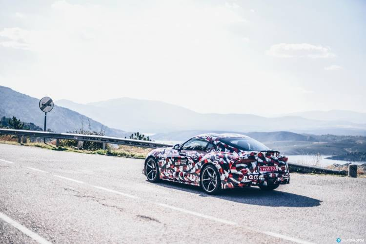 Toyota Supra Prueba 27