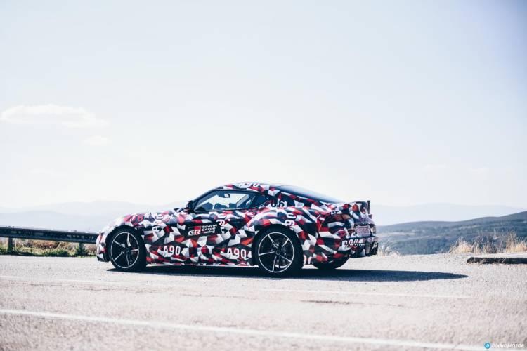 Toyota Supra Prueba 30