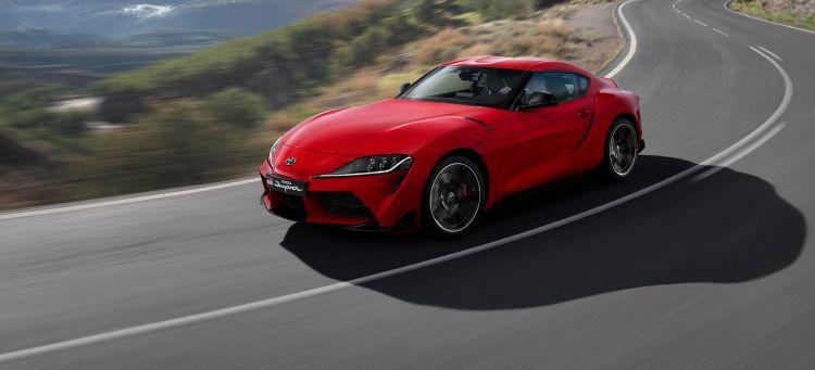 Toyota Supra Rojo 2019 Frontal
