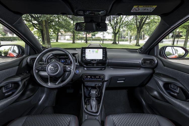 Toyota Yaris 2020 Prueba Detalles Rojo 31