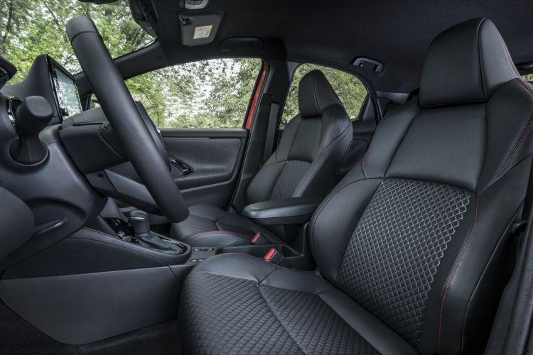 Toyota Yaris 2020 Prueba Detalles Rojo 34