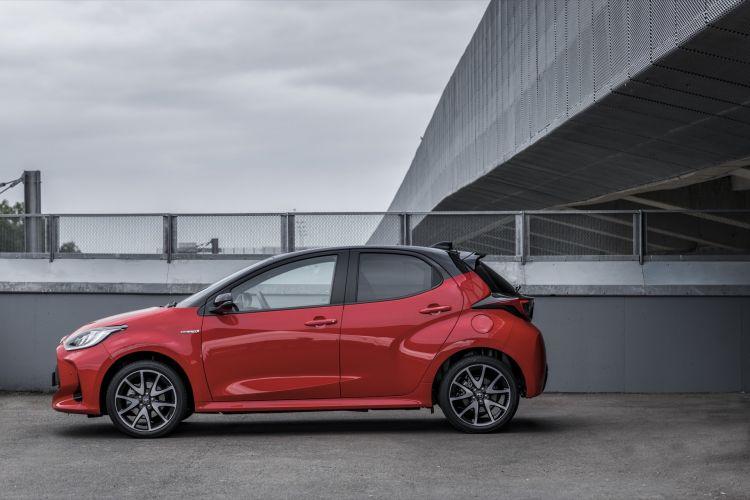 Toyota Yaris 2020 Prueba Rojo 10