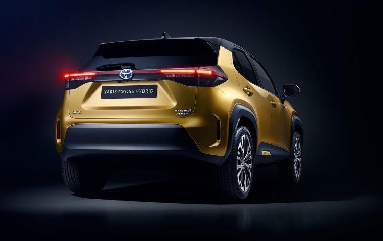 Toyota Yaris Cross 2020 13 Trasera
