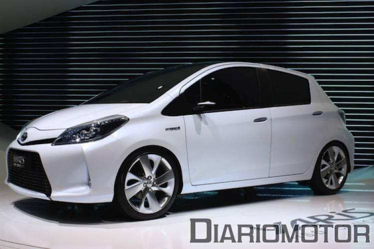 Toyota Yaris HSD Concept en el Salón de Ginebra 2011
