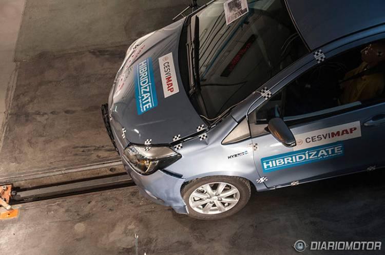 Crash-test del Toyota Yaris Híbrido