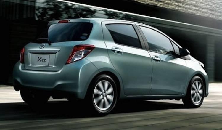 Toyota Yaris / Vitz 2012