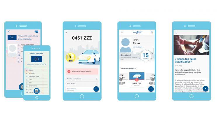 Tramites Dgt Correos Aplicacion App Movil Nuevas Funciones Midgt