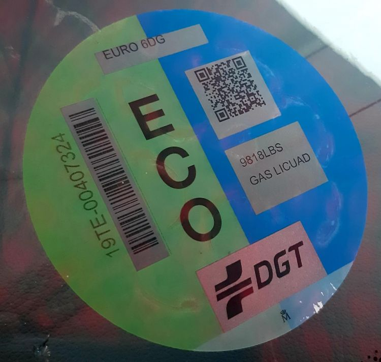 Tramites Dgt Correos Aplicacion App Movil Ssangyong Tivoli G12t Glp Etiqueta Eco