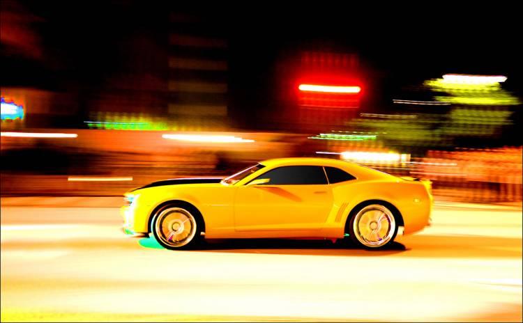 "Transformers 2: Revenge of the Fallen. Chevrolet Camaro ""Bumblebee"""