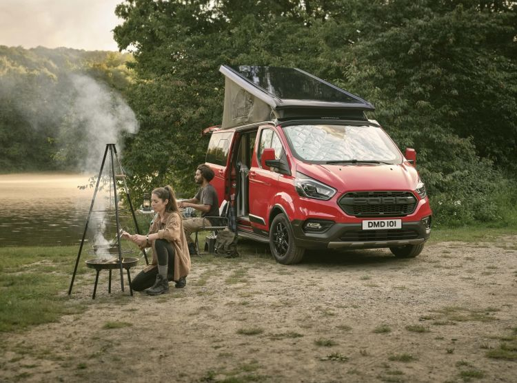 Ford Blends Adventure And Style To Broaden Nugget Camper Van Ran
