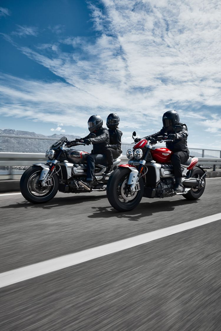 Triumph 2019 Rocket 3 R And Gt Joint Riding 2