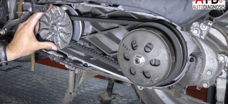 Variador Moto Correa