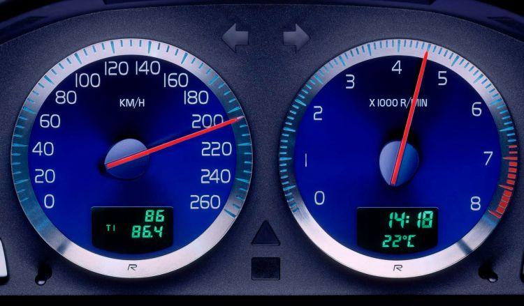 Velocimetro Volvo S60 V70 2002 Emisiones Diesel Gasolina