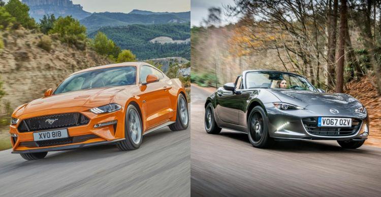 Ventas Ford Mustang Vs Mazda Mx 5 Portada