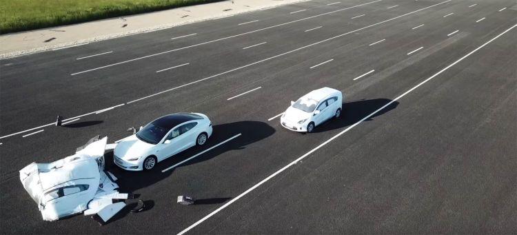Video Problema Tesla Autopilot