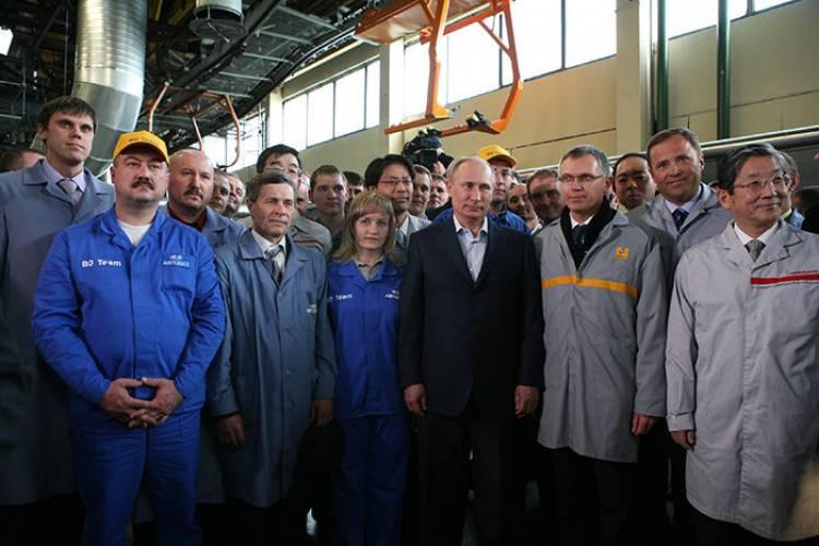 Limusina de Putin