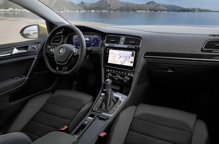 Volkswage Golf 2017 New Volkswagen Golf 2017 Interior 1