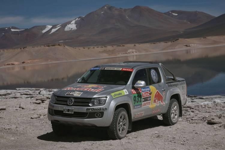 Las Volkswagen Amarok también han superado el Dakar