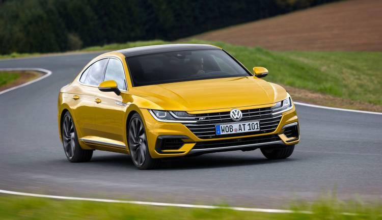 Volkswagen Arteon 2019 Amarillo Frontal Exterior