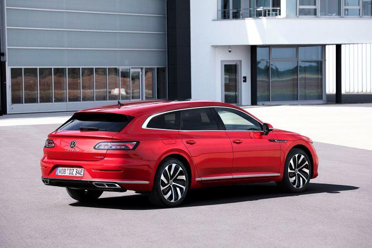 Volkswagen Arteon 2020 Shooting Brake Ehybrid R Line Rojo 02